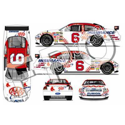 Hardtop :: David Ragan will run the AAA Insurance/Boston Red Sox car