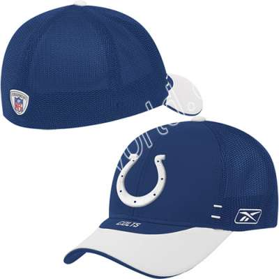 4a1ec2457 Reebok Indianapolis Colts 2007 Draft Day Hat   Get ready for an intense and  competitive season with this 2007 NFL® Indianapolis Colts Draft Day Cap by  ...