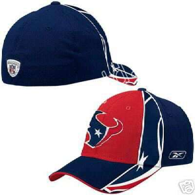 NFL Equipment Houston Texans 2005 Sideline Player Flex Cap   The NFL®  Sideline Player Flex cap from Reebok® is made with a durable blend of  polyester 1ce786b7bd9