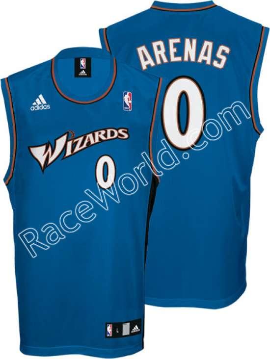 the latest e116e 537f7 Race World: Basketball: NBA Adidas Men's Jerseys: Gilbert ...