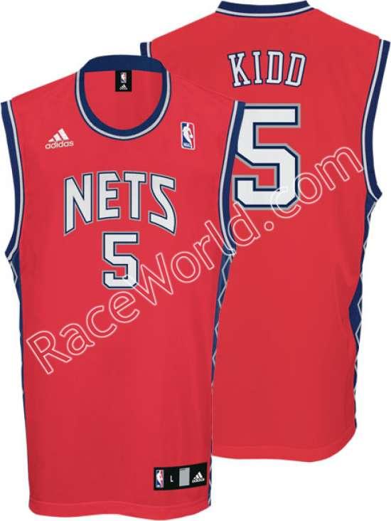 best website 10eba 5445a Race World: Basketball: NBA Adidas Men's Jerseys: New Jersey ...