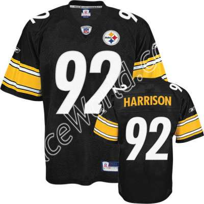 5c777d91735 Reebok Pittsburgh Steelers James Harrison Premier Team Color Jersey-Size  Small   This Premier jersey is made of heavier fabric