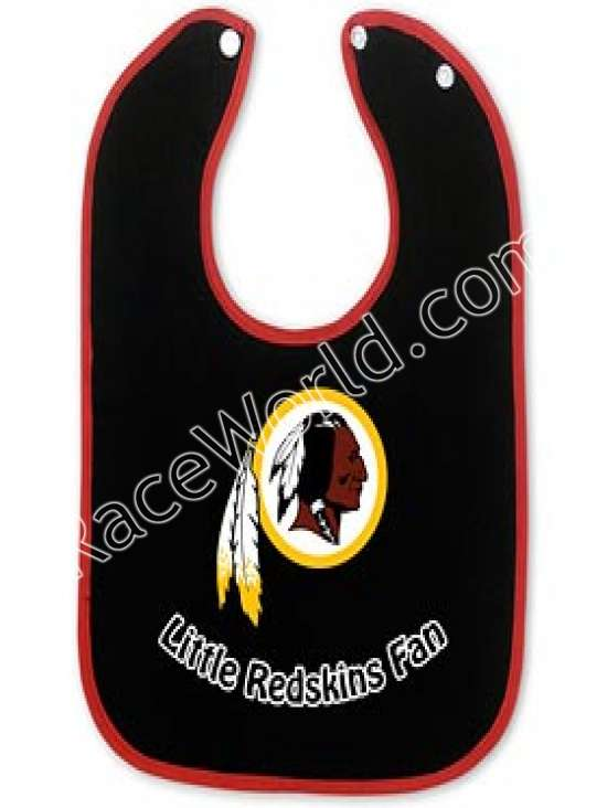 Redskins Color Baby Bib   Start your young Redskins fan out right with  these two-toned snap baby bibs. The Washington Redskins baby bibs feature  the ... 83b49191f